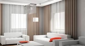 Rideau Moderne Salon : cuisine great rideau salon tendance rideau salon tendance ~ Premium-room.com Idées de Décoration