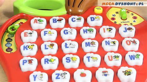 preschool learning alphabet apple jabłko z literkowym 200 | maxresdefault