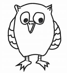 Owl Outline - ClipArt Best