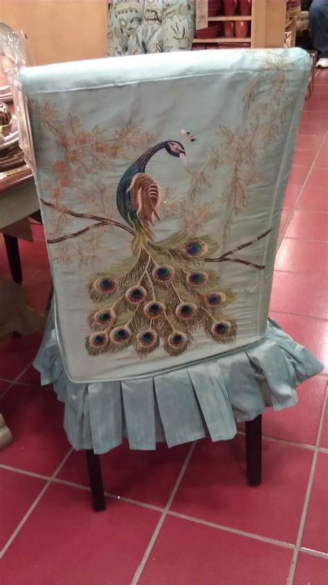pier one peacock dining room chair cover for love of