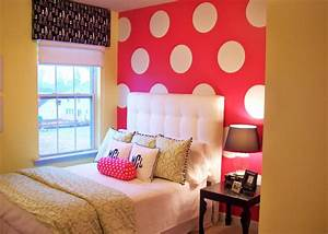 pink bedroom ideas With teen girl room ideas with cute decoration items