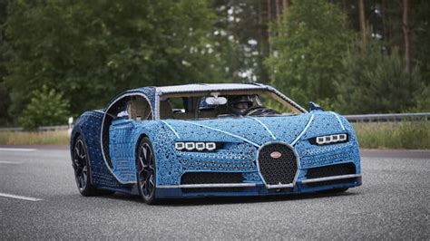 Official #bugatti twitter feed if comparable, it is no longer bugatti. This Life-Size LEGO Bugatti Chiron Is Actually Driveable   The Manual