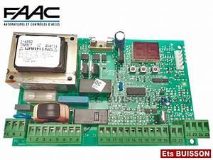 Carte Electronique Portail : faac carte lectronique de commande 455 d ~ Melissatoandfro.com Idées de Décoration
