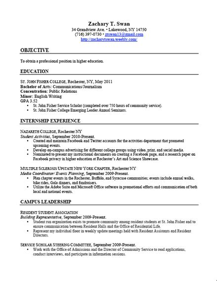 fast help relevant coursework on a cv