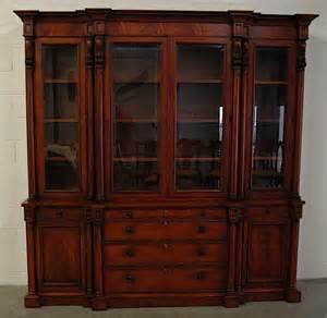 97 henredon quot ralph lauren quot mahogany china cabinet lot 97