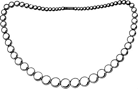 pearl necklace clipart black and white pearl necklace clipart black and white letters