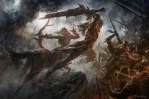God Of War Ascension Concept Art By Andy Park Concept