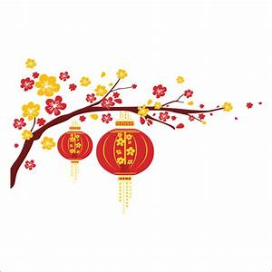 Lantern clipart chinese flower - Pencil and in color
