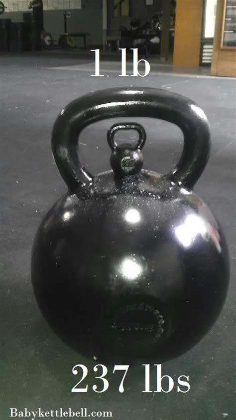 crossfit kettlebells kettlebell largest fitness arms mens health gym smallest workout lifts 1lb 108kg took