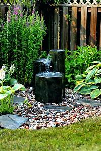 Build, Your, Own, Outdoor, Patio, Water, Feature, Amusing, Backyard, Fountain, Ideas, Rock, Features, With