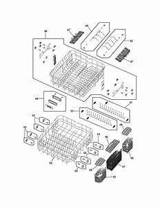 Frigidaire Fphd2491kf0 Dishwasher Parts
