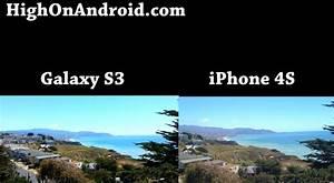 Galaxy S3 vs. iPhone 4S Camera Photo/Video Shootout ...