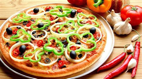 cuisine pizza veggie pizza wallpaper