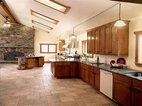 kitchen best tile for kitchen floor with color