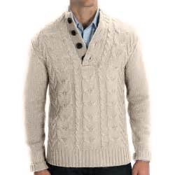 Men's Wool Cable Knit Sweaters