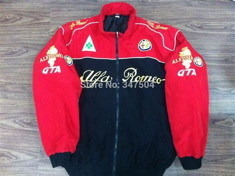alfa romeo jacke new alfa romeo car racing jacket coat free shipping in jackets from s clothing accessories