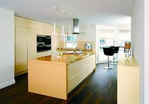 Moderne Küche Mit Insel : einfarbige offene k che mit insel ~ Orissabook.com Haus und Dekorationen
