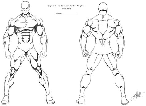 character template basic character template by gwdill on deviantart