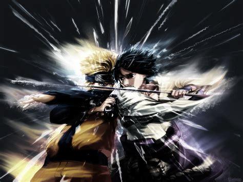 Wallpaper Naruto Naruto Sasuke Clashv3