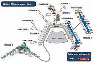 O Hare Chicago Map
