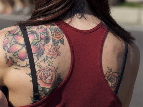 tattoos  girls  shoulder blade  impress
