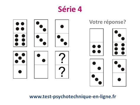 Test D by Ifsi Test Domino Tests Psychotechniques