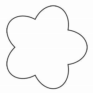 Outlines Of Flowers - ClipArt Best