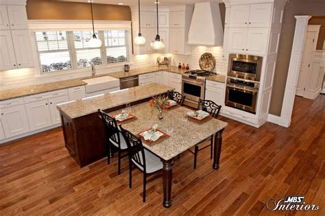 kitchen island with attached table kitchen island with table attached beauteous kitchen 8233