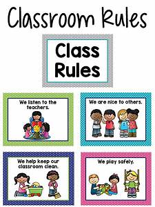 Pre-K Classroom Rules | Back to School | Classroom ...