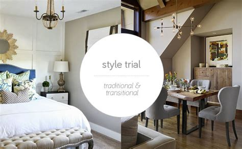 14 Traditional Style Home Decor Ideas That Are Still Cool: Style Trial: Traditional Style Furniture And Transitional