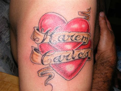 corazones  nombres archive worldwide tattoo supply