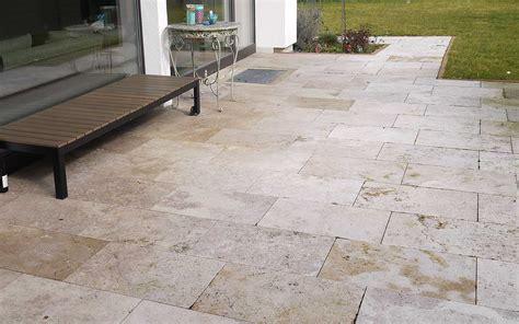 Terrassenplatten Erfahrungen by Travertin Platten G 252 Nstig Kaufen Steinlese