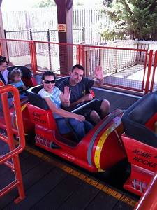 The Walt Disney Company Warner Bros Movie World Road Runner Rollercoaster