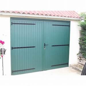 Porte De Garage Bois : porte de garage 2 vantaux a la belle fen tre ~ Melissatoandfro.com Idées de Décoration