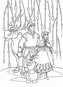 Disney Frozen Coloring Sheets – Elsa, Anna and Kristoff ...