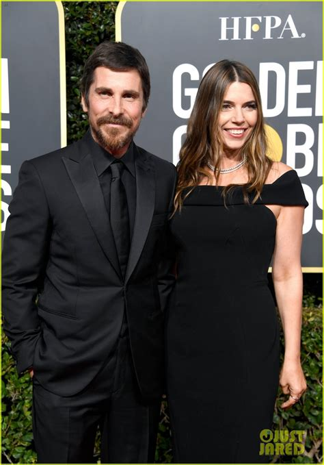Christian Bale Supported Wife Sibi Golden Globes