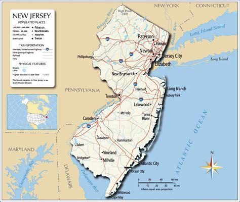 large  jersey state maps     print
