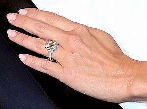 you gotta see kym johnson39s huge engagement ring sharks With kym johnson wedding ring