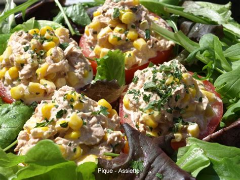 salade de riz thon mais tomates oeufs jambon recette