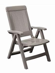 Un Dossier De Chaise : fauteuil de jardin fidji avec dossier r glable grosfillex ~ Premium-room.com Idées de Décoration