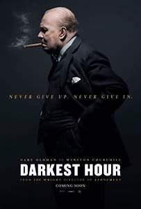 Darkest Hour - new poster -> https://teaser-trailer.com ...