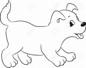 Cute Dog Drawing - Pencil Art Drawing