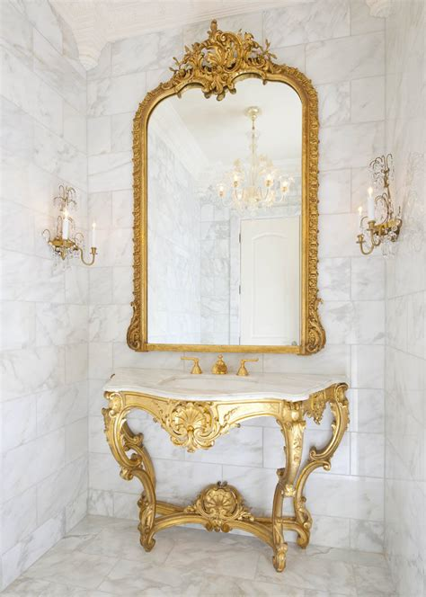 bronze bathroom mirror 3 secrets to decorating versailles inspired rooms