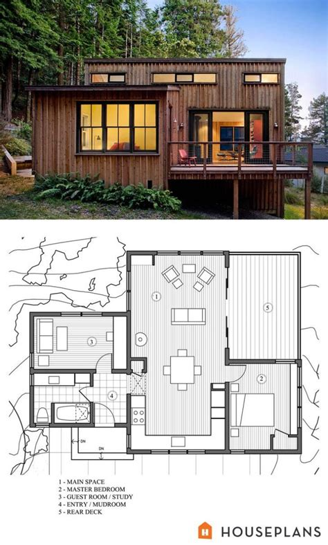 Modern House Plans Most 54 Simple Plan For Seniors Spaces