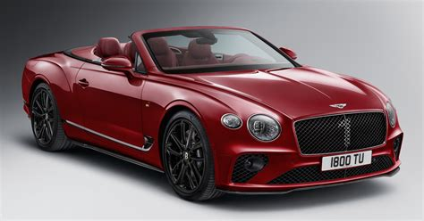 bentley continental gt convertible number  edition