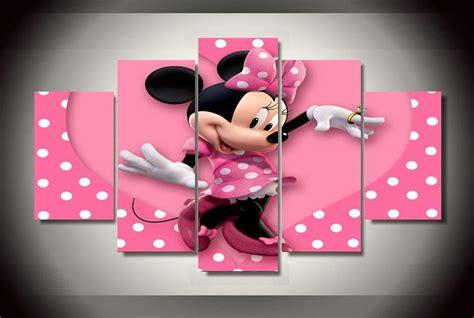 panels minnie mouse group artwork multi canvas art