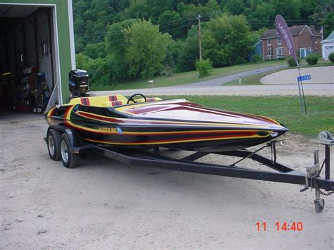 Baker Boats by Baker Rally Sport Tunnel Hull 20 Ski Boat Speed Boat