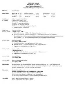 helicopter pilot resume corporate pilot resume