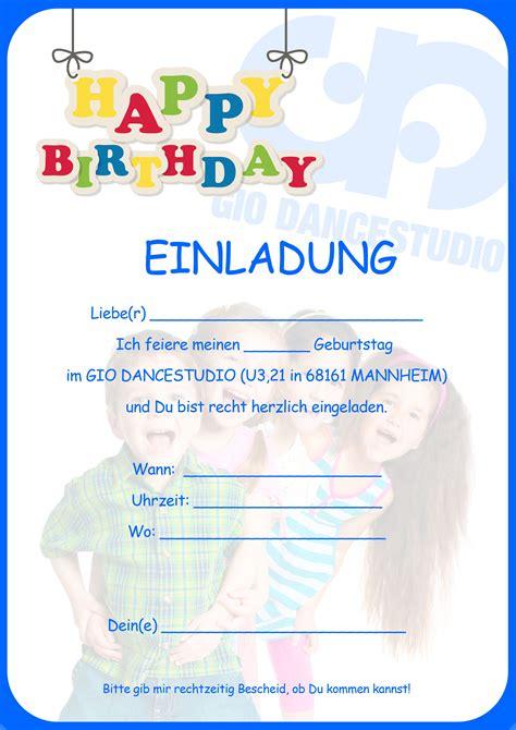 geburtstagskarten für kinder einladungskarten kindergeburtstag kostenlos einladung