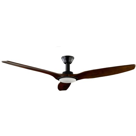 trident dc ceiling fan high airflow led light black 70 quot